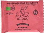 BIO presna čokolada z malino Cacao Crudo 30g