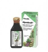 Floradix Alpenkraft tonik z eteričnimi olji in rastlinskimi izvlečki 250ml