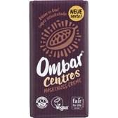 Bio čokolada z lešnikovo kremo CENTRES Ombar 35g
