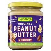 BIO arašidovo hrustljavo maslo Rapunzel 250