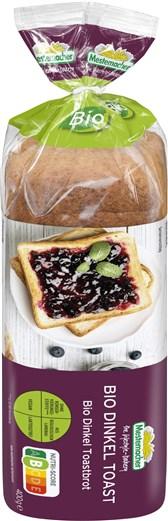 Bio pirin toast Mestemacher 400g