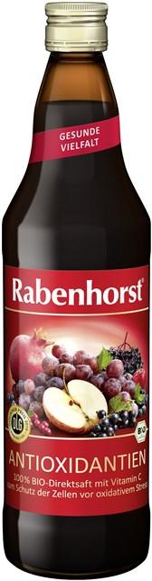 BIO mešani sadni sok z antioksidanti Rabenhorst 0,75l
