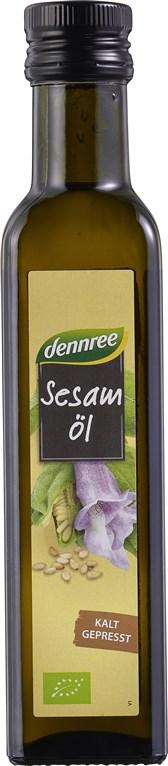 BIO sezamovo deviško olje Dennree 250ml