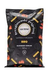 Lečitos prigrizek brez glutena BBQ Gluteno 120g