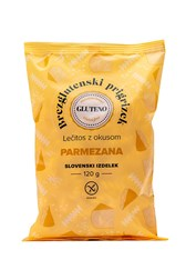 Lečitos prigrizek brez glutena parmezana Gluteno 120g