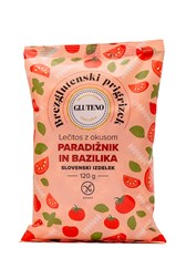 Lečitos prigrizek brez glutena paradižnik in bazilika Gluteno 120g