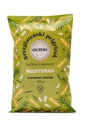 Lečitos prigrizek brez glutena Mediteran Gluteno 120g