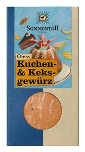 BIO babičine začimbe za pecivo in piškote Sonnentor 50g