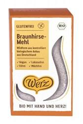 BIO moka iz neoluščenega rjavega prosa Werz 500 g