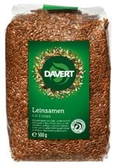 Seme laneno rjavo Davert 500 g