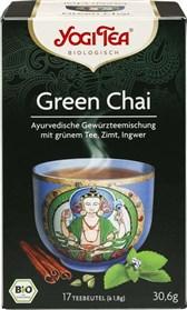 BIO zeleni čaj z začimbami Chai YogiTea 30,6g
