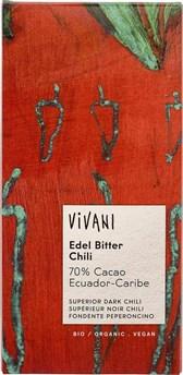 BIO čokolada Vivani s čilijem 100g