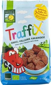 BIO pirini keksi s čokolado Traffix Bohlsener 150g