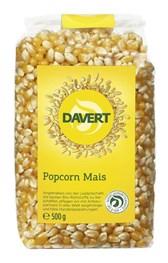 BIO popcorn Davert 500g