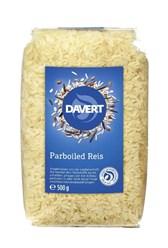 BIO dolgozrnat riž Parboiled Davert 500g