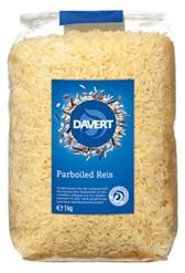 Riž dolgozrnati parboiled Davert 1 kg
