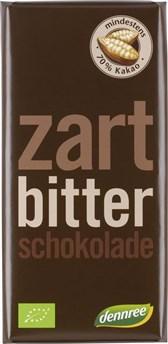BIO temna čokolada DEN 100g