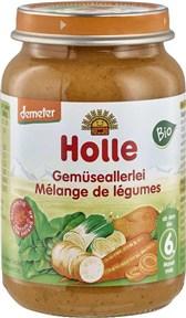 BIO kašica z več vrst zelenjave Holle 190g