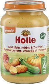 BIO kašica Holle bučka in buča s krompirjem 190g