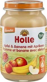 BIO kašica Holle jabolko banana z marelico 190g