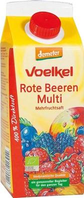 BIO sok rdečega jagodičevja Voelkel 0,75l
