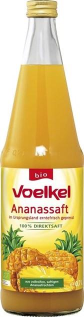 BIO sok ananas Voelkel 0,7l