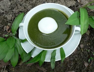 Kremna čemaževo-špinačna juha