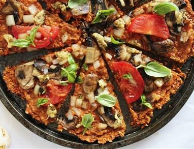 Presna veganska pica za vsak okus