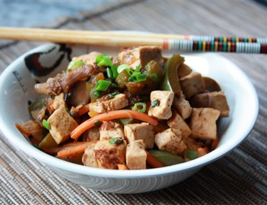 Kitajski tofu za srečo