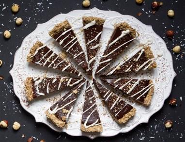 Veganska čokoladna espresso torta