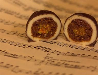 Veganske Mozartove kroglice