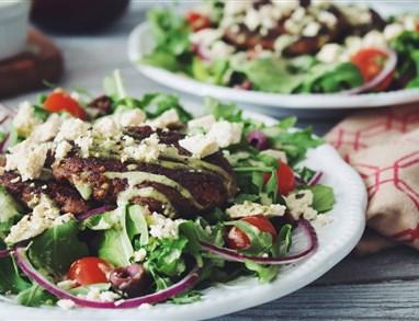 Moja velika grška veganska solata