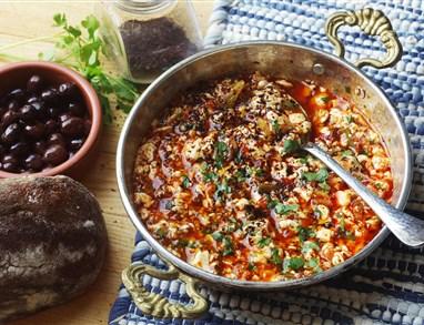 Umešan svileni tofu po turško