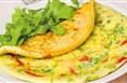 Zelenjavna omleta - za lačne na dieti proti glivicam