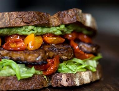 Home-made sendvič